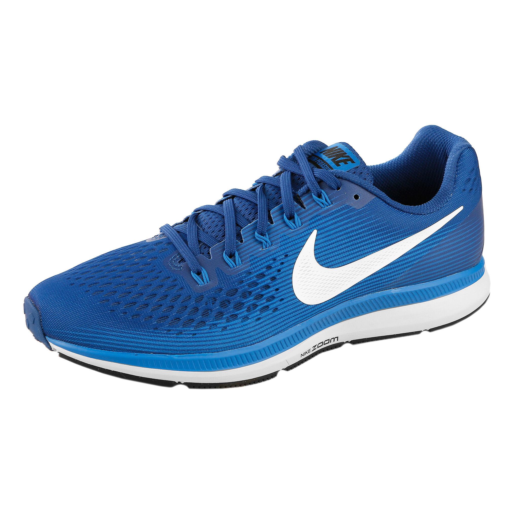 big sale e96ce b104a Nike Air Zoom Pegasus 34 Neutral Running Shoe Men - Blue, White