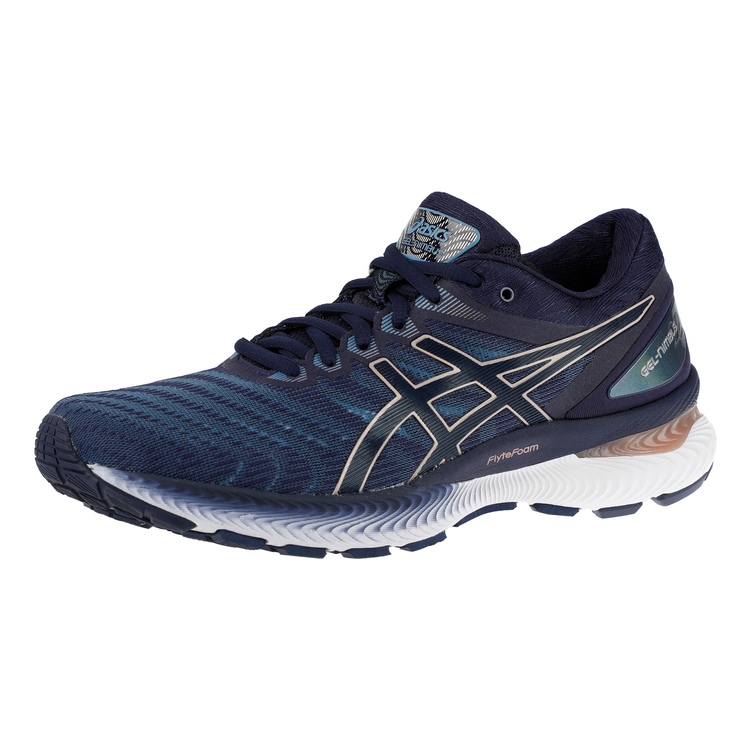 buy Asics Gel-Nimbus 22 Neutral Running Shoe Women - Dark ...