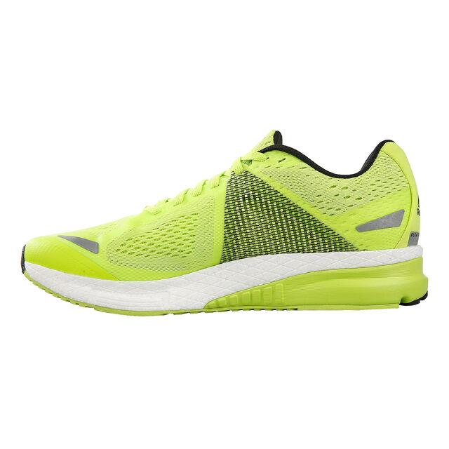 001577229b Reebok Harmony Road Stability Running Shoe Men - Lime, Black