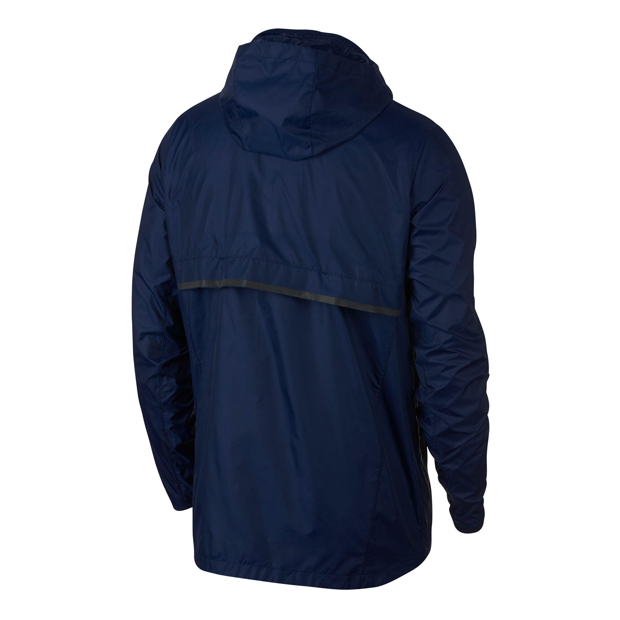 buy Nike Shield Running Jacket Men - Dark Blue 69d3354bb